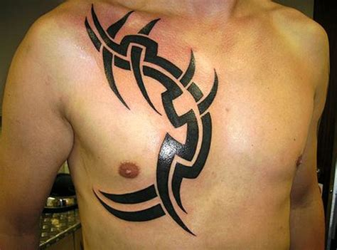 chest shoulder tribal tattoos 52 most eye catching tribal tattoos