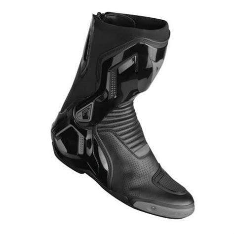 dainese    air korumali deri motosiklet botu siyah