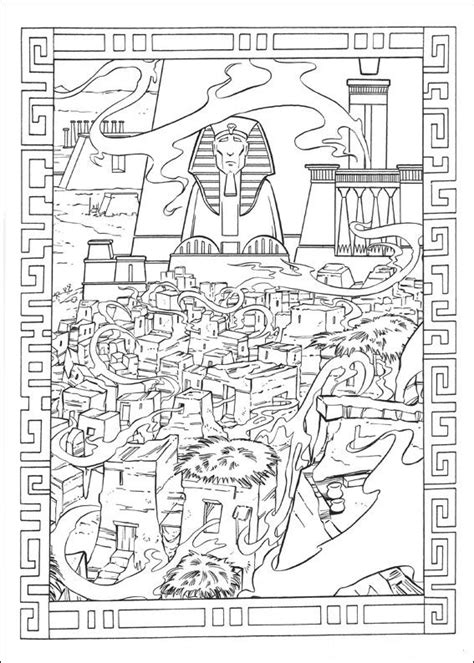 prince  egypt coloring pages