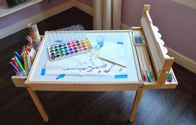 craft table with paper roll holder design ingenuity diy craft table latt hack with