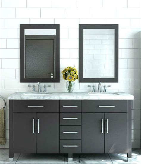 Modern Bathroom Cabinets by Modern Bathroom Vanities And Cabinets Bathgems