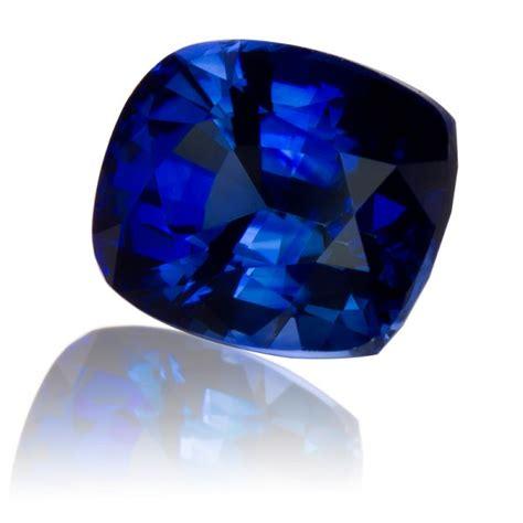 blue sapphire ceylon 276 ceylon royal blue sapphire cushion 2 33ct king gems