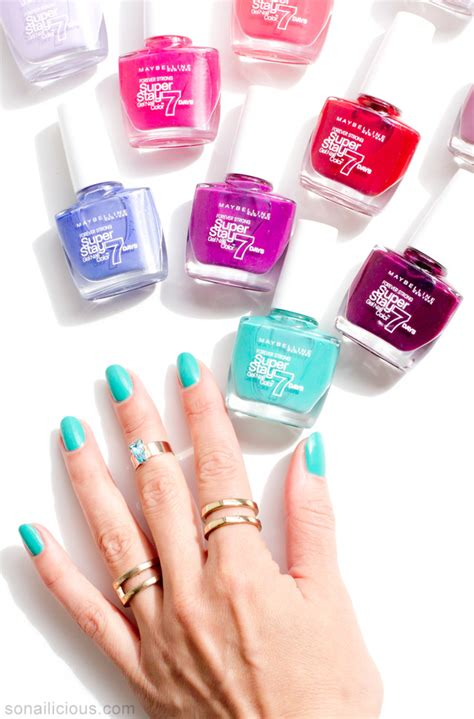 Maybelline Nail maybelline superstay gel nail colour does it last 7 days