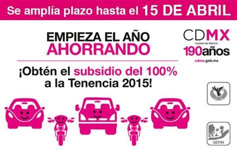 tenencias para motocicletas del estado de mexico prorroga tenencia edo mex 2015 tenencias guerrero 2015