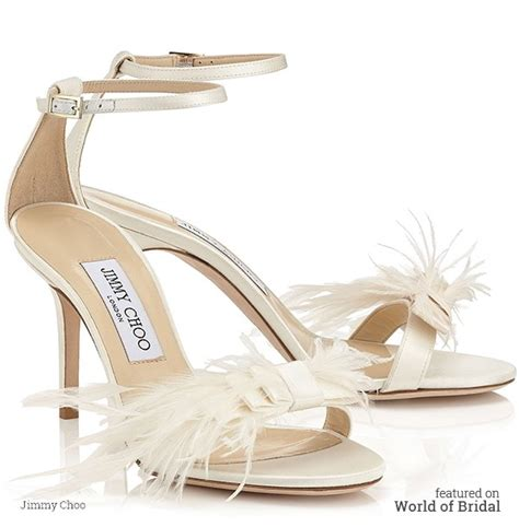 Looks Gorgeous As Usual In Jimmy Choo Bias Leather Heels by Jimmy Choo 2016 Bridal Shoes Collection World Of Bridal