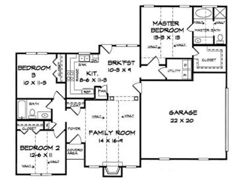 1350 sq ft house plan 1350 sq ft house plans single story 2 bedroom popular