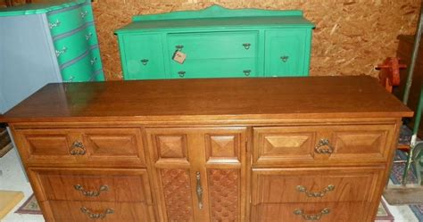dixie furniture triple dresser piece of candy furniture triple dixie dresser painted