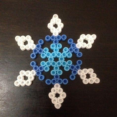 perler snowflakes snowflake hama perler by keggles5 perler