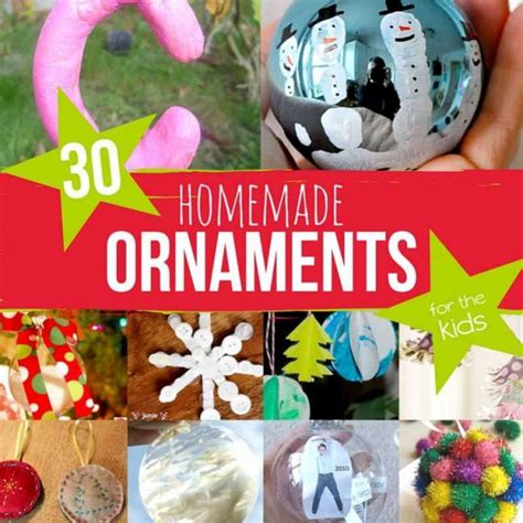 ornaments to make 30 ornaments for the on as we grow