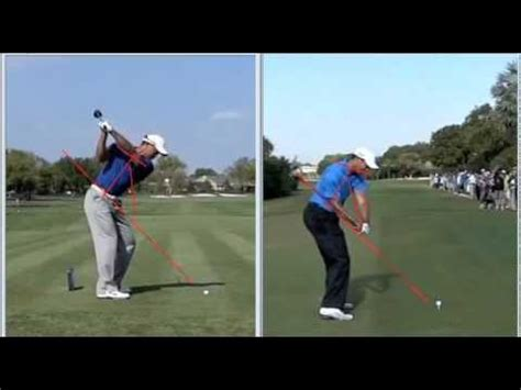 tiger woods golf swing analysis tiger woods swing change analysis 2011 vs 2010 how to