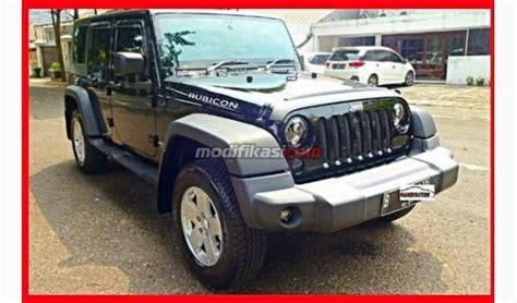 Wrangler Hitam 2010 jeep wrangler unlimited 4 pintu hitam