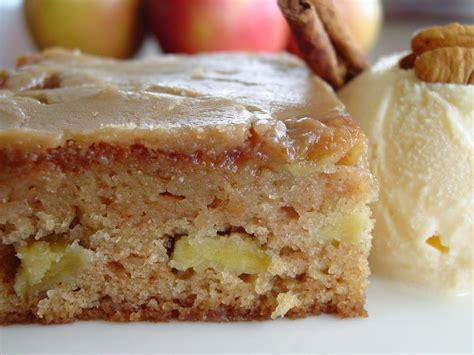 apple cake glazed apple cakes with cinnamon sugar recipe dishmaps