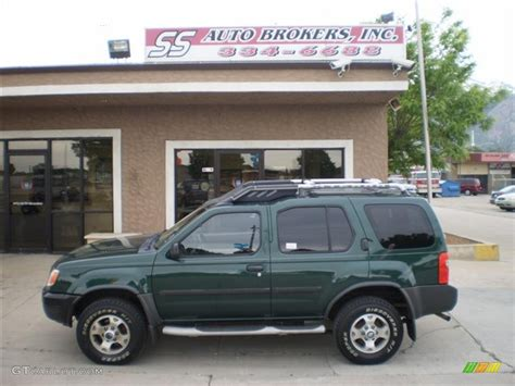 2001 alpine green metallic nissan xterra se v6 4x4 30936232 gtcarlot car color galleries