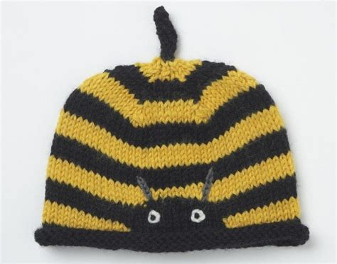 Bee Knit Hat buzzy bee hat 183 extract from knitted animal hats by fiona