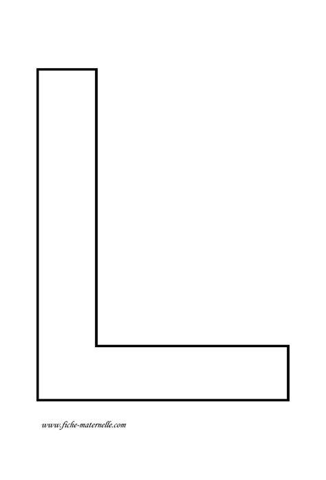 lettere l lettre de l alphabet 224 d 233 corer lettre l