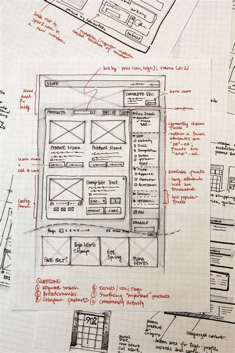 beautiful layout exles 33 great exles of web design sketches sketches