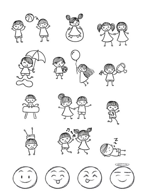 doodle name step by step how to draw doodles step by step image guides
