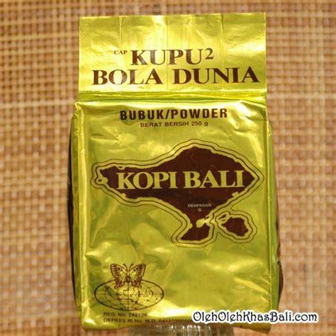 Oven Cap Kupu Kupu kopi bali cap kupu kupu bola dunia gold special oleh