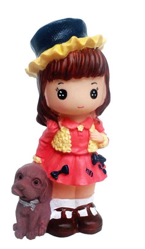 Celengan Boneka Hk Karakter alat tulis set toko bunda