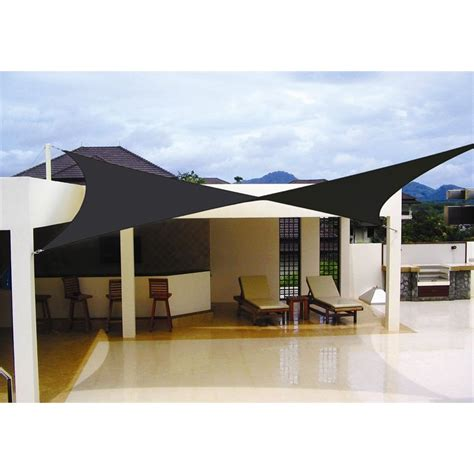 sun sails shade coolaroo 5 4 x 5 4m charcoal square shade sail 199 00 from www bunnings au