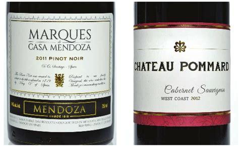 design label mississauga wine foil embossed labels toronto brton mississauga