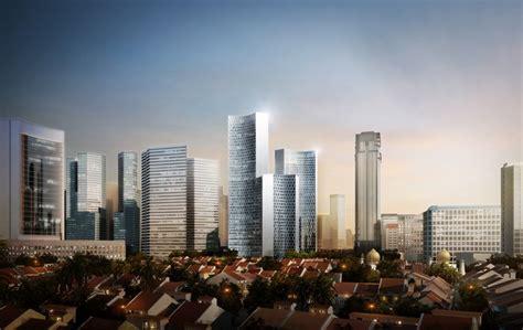 buro ole scheeren singapore duo towers in singapore by b 252 ro ole scheeren