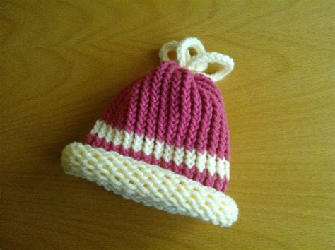 how to loom knit a baby hat another baby loom knit hat loom 13