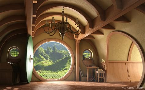 hobbit home interior bag end