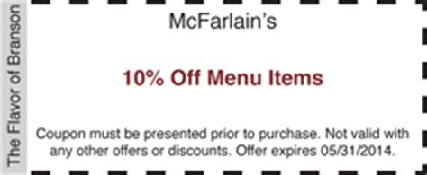 printable restaurant coupons for branson mo coupons bransonrestaurants com