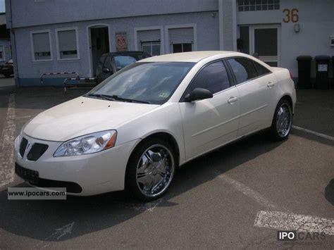 pontiac g6 v6 specs 2007 pontiac g6 v6 german approval car photo and specs