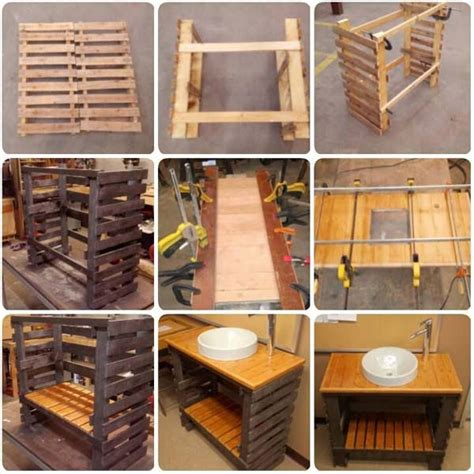 pallet craft projects the best 60 diy pallet projects for your bathroom