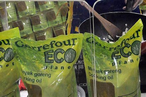 Minyak Di Carrefour minyak goreng ramah lingkungan dari carrefour mongabay co id