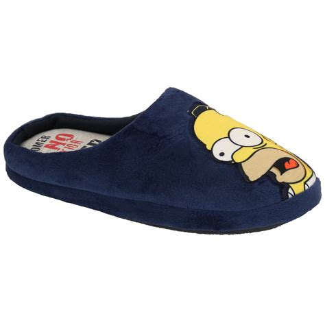 homer simpson house shoes mens slippers homer simpsons minions star wars tetley mule sandals novelty duff ebay