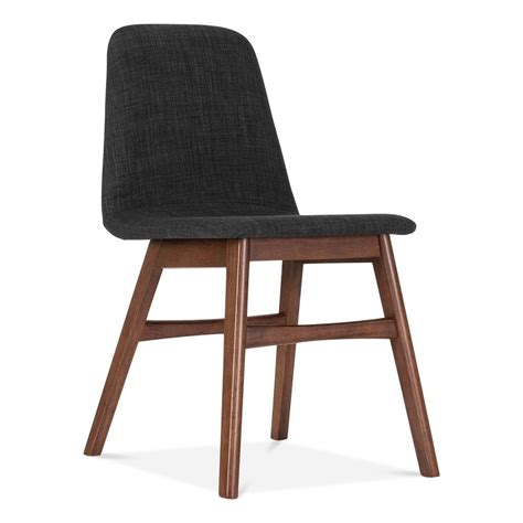 Cult Living Amara Upholstered Dining Chair In Dark Grey Grey Upholstered Dining Chairs