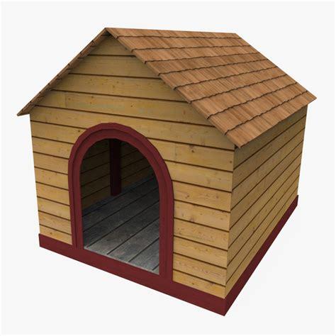dog house models 3d model dog house