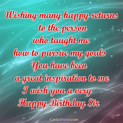 Happy Birthday Wishes To Professor Top 100 Birthday Wishes For Professor Cards Wishes