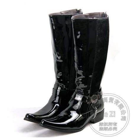 mens knee high cowboy boots promotion shop for promotional