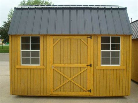 2015 hickory buildings side lofted barn 8 x12 in