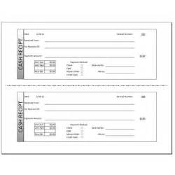 money receipt template a free receipt template for word or excel