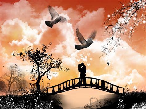 romantic wallpaper wallpaper collection romantic love couple kissing