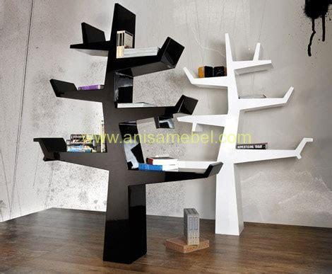 Rak Buku Pohon jual furniture mebel jepara harga murah rak buku pohon