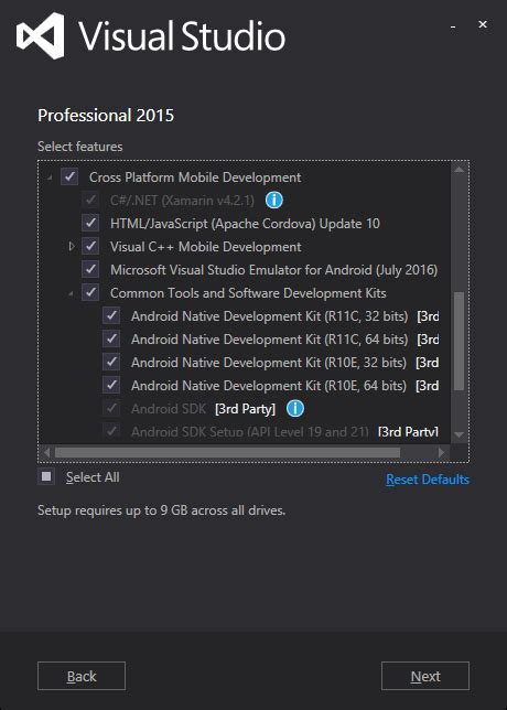 tutorial xamarin visual studio 2015 net core creating a xamarin forms project