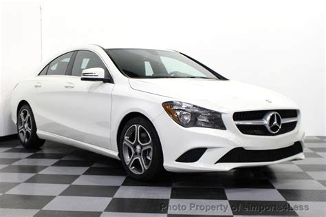 2014 Mercedes Cla250 by 2014 Used Mercedes Certified Cla250 4matic Awd