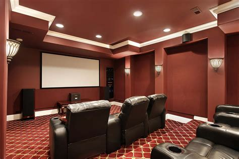 Home Cinema Interior Design by Interior Design Services Mcclintock Walker Interiors
