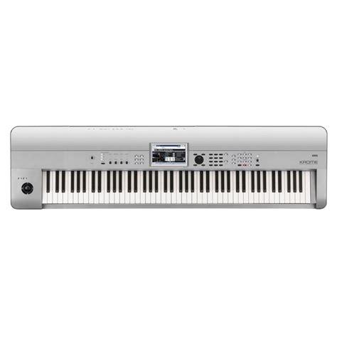 Keyboard Korg Krome 88 korg krome 88 88 key workstation platinum from rimmers