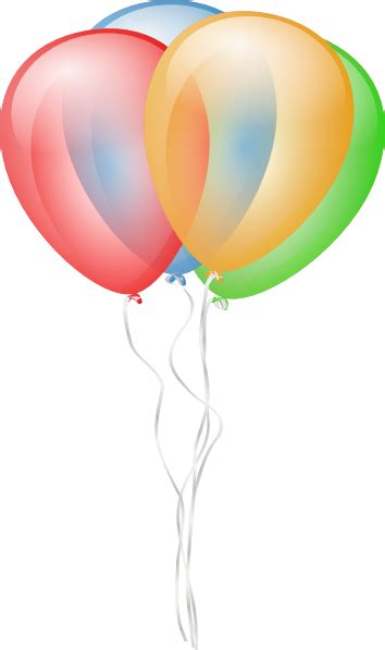 balloons  clip art  clkercom vector clip art