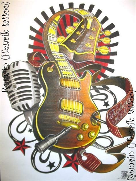 how to play tattooed heart on guitar guitar tattoo idea best tattoo designs