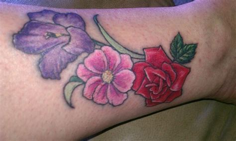 august flower tattoo my august october and june birth flowers