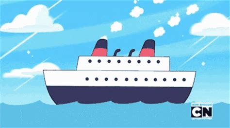 big boat gif image say uncle animation ship sinking gif steven