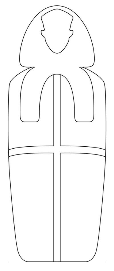mummy template best photos of mummy outline template mummy cut out